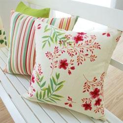 韩式纯棉田园风格枕套 30x45cm
