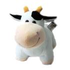 胖胖小奶牛 毛绒玩具 玩偶公仔 布娃娃 牛牛靠垫抱枕10c178